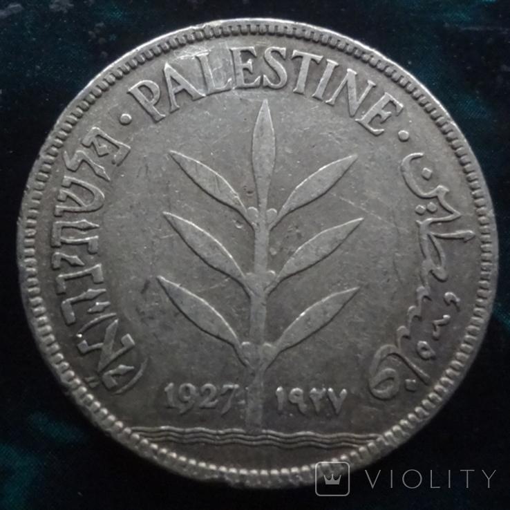 100 милс 1927 Палестинская Британия   серебро    (6.3.1), фото №4