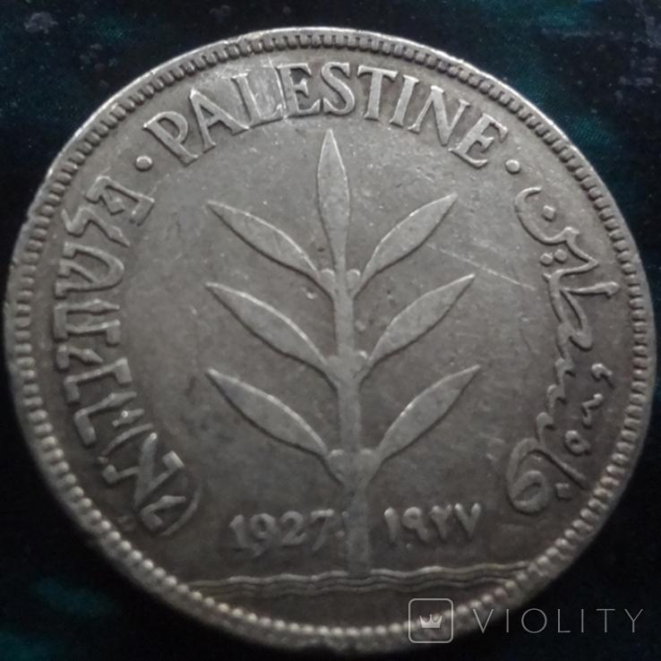 100 милс 1927 Палестинская Британия   серебро    (6.3.1), фото №5