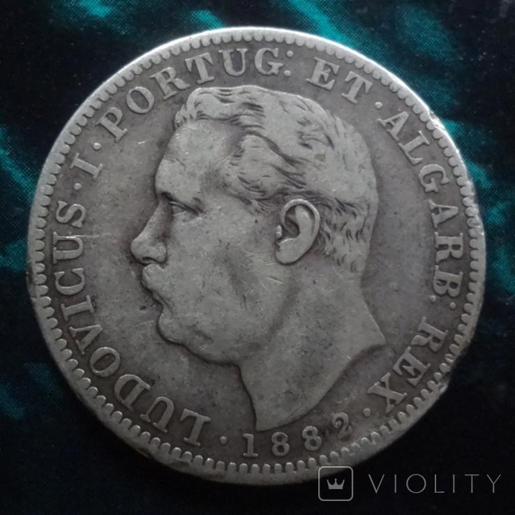 1  рупия 1882 Португальская Индия, фото №2