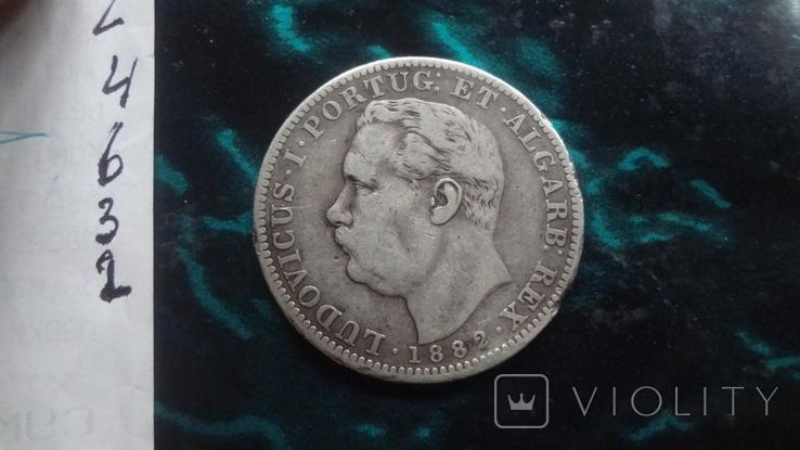 1  рупия 1882 Португальская Индия, фото №8
