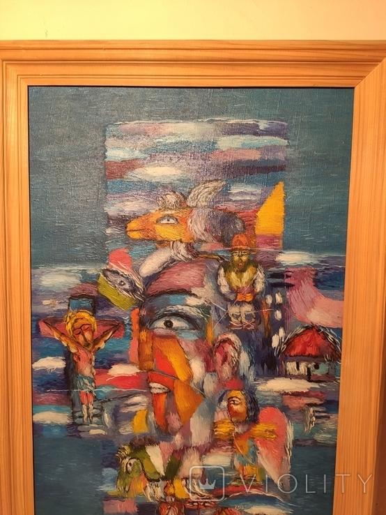 Картина из дома художника - черновцы 1996, фото №3