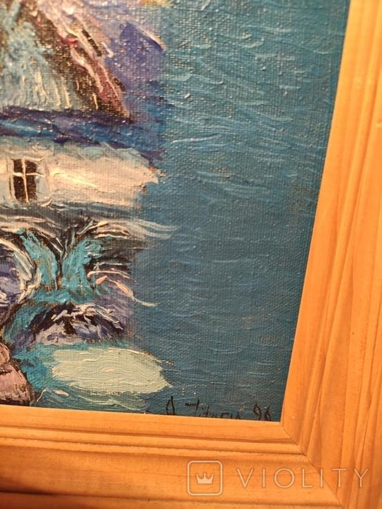 Картина из дома художника - черновцы 1996, фото №7