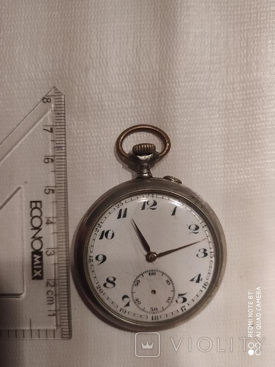 Часы карманные старые Esta на ходу, фото №2