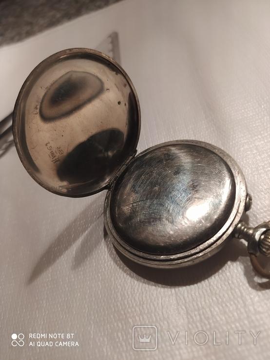 Часы карманные старые Esta на ходу, фото №5