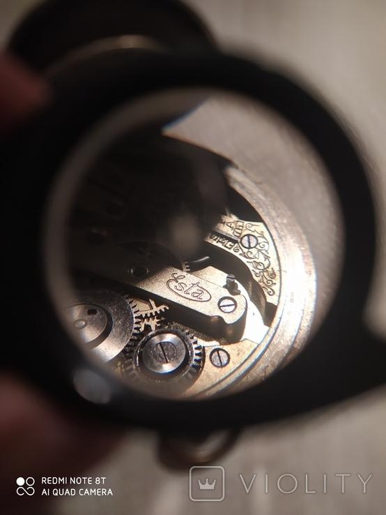 Часы карманные старые Esta на ходу, фото №7