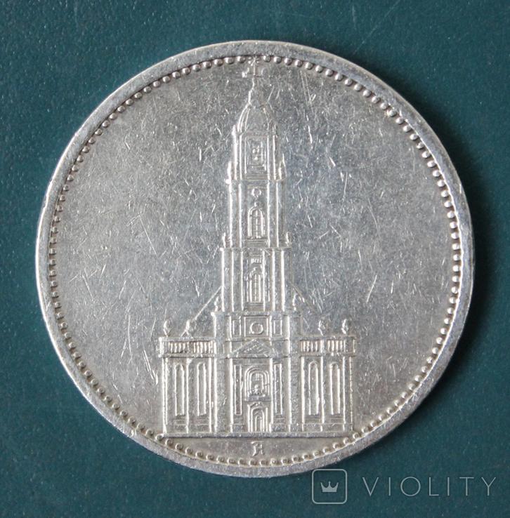 5 марок 1935(А), фото №2