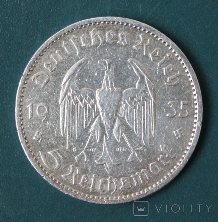 5 марок 1935(А), фото №3