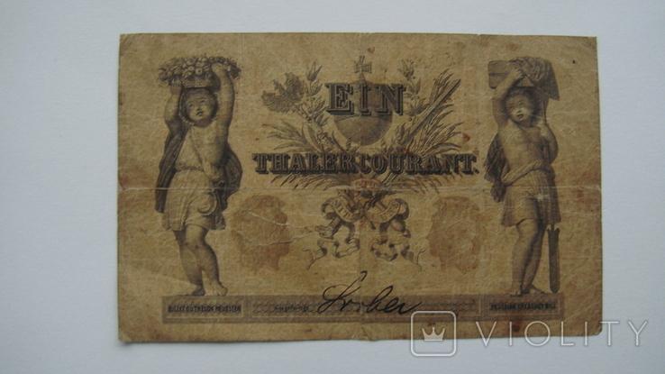 Пруссия 1 талер 1861