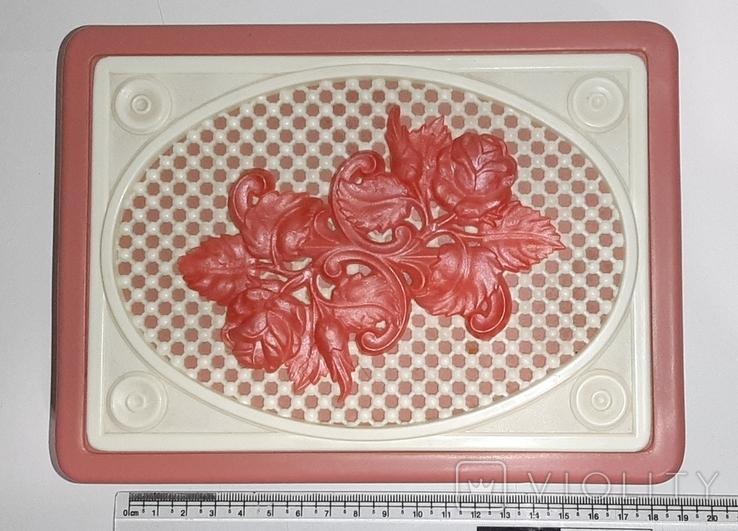 Шкатулкас розами. СССР, фото №6