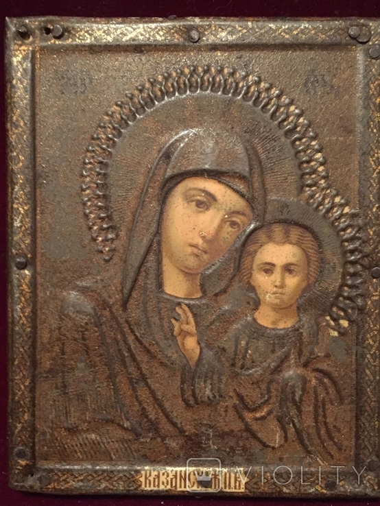 Иконка Богородицы Жако, фото №2