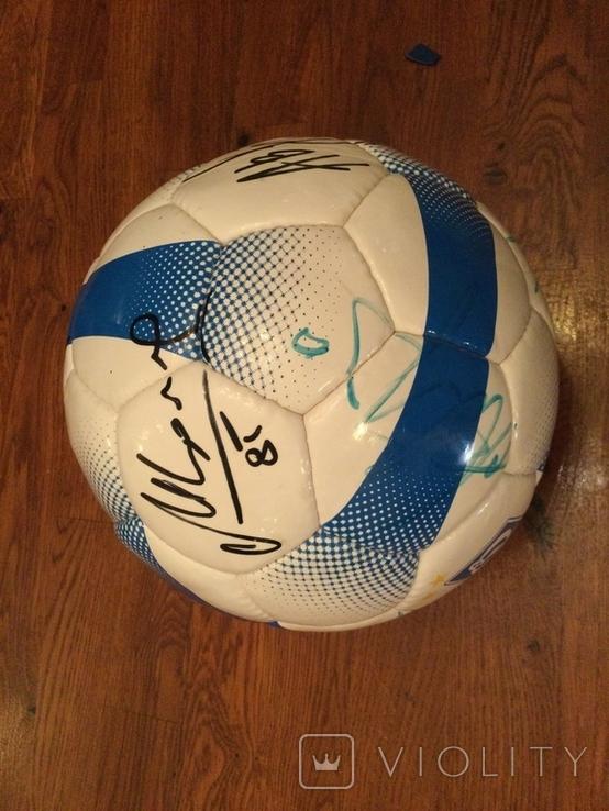 Мяч Динамо Киев с автографами, фото №4