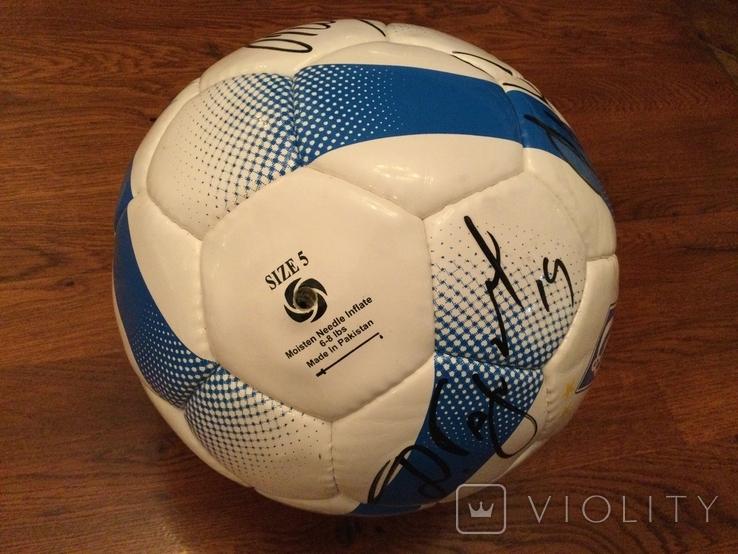Мяч Динамо Киев с автографами, фото №5