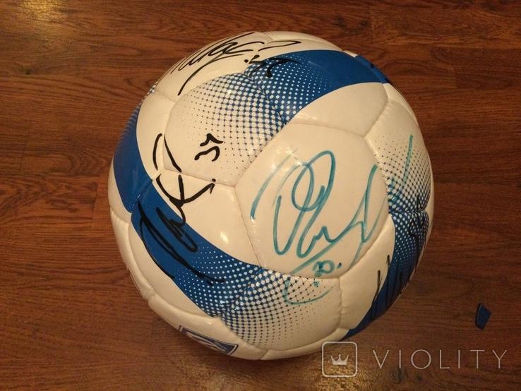 Мяч Динамо Киев с автографами, фото №6