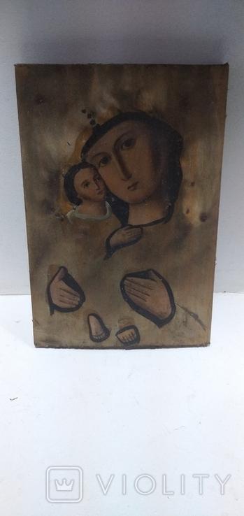 Икона Божией матери с младенцем, фото №2