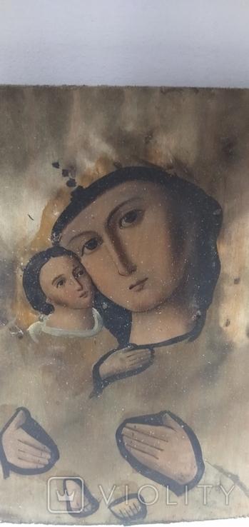 Икона Божией матери с младенцем, фото №5