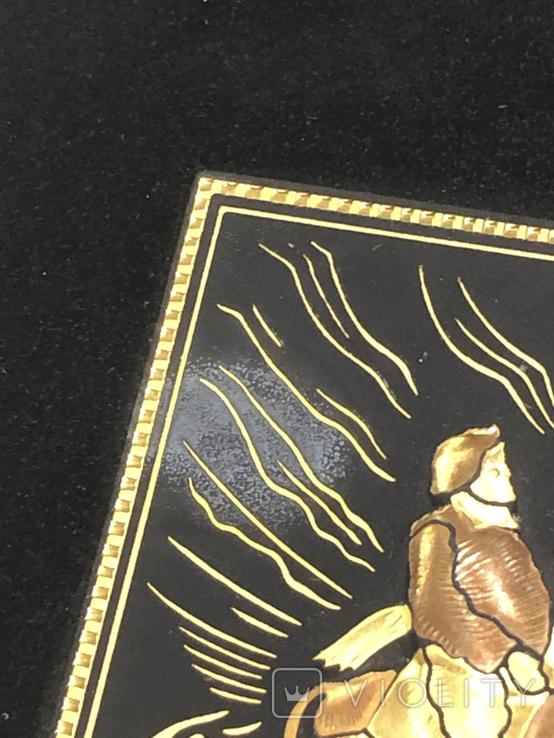 Картина Toledo Испания Дон Кихот 24к и 18к, фото №5