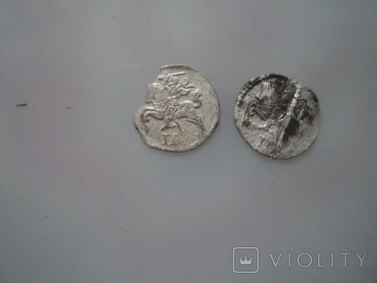 Двудинарии 1566 1567 г, фото №4