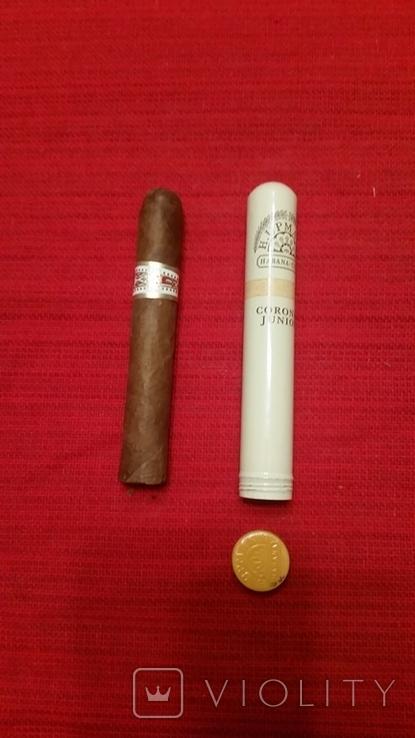 Кубинская сигара в металлическом тубусе, фото №5