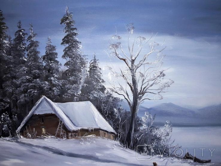 Зимовий пейзаж, фото №3