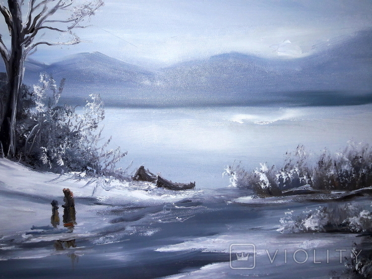 Зимовий пейзаж, фото №4