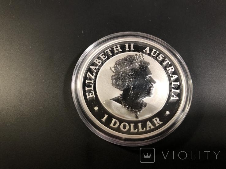 Монета Австралии коала 2020 1 унция, фото №2