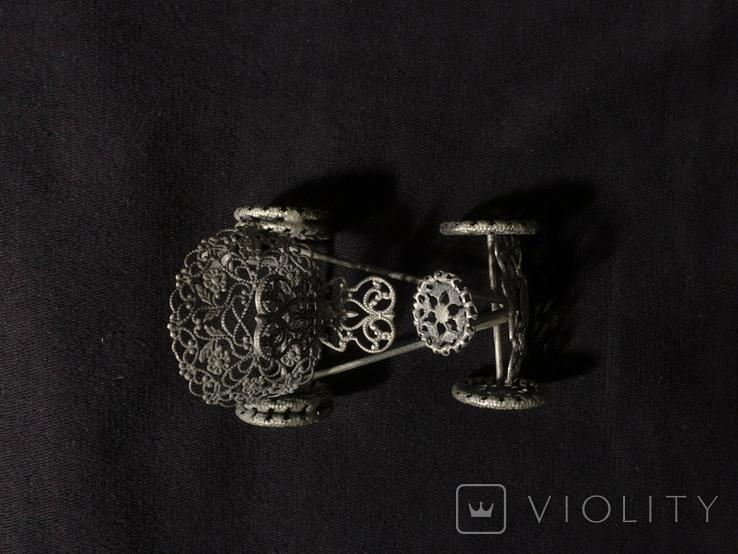 Автомобиль из серебра  925 ZOCCHI 35,5 гр., фото №7