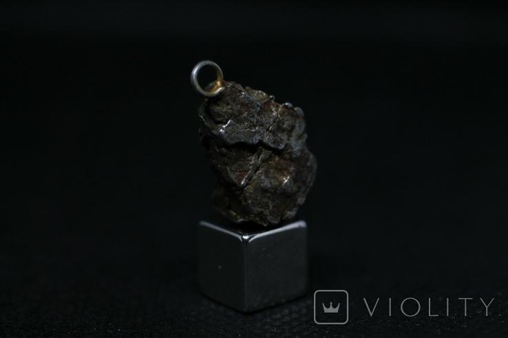Кулон із залізного метеорита Campo del Cielo, із сертифікатом автентичності, фото №3
