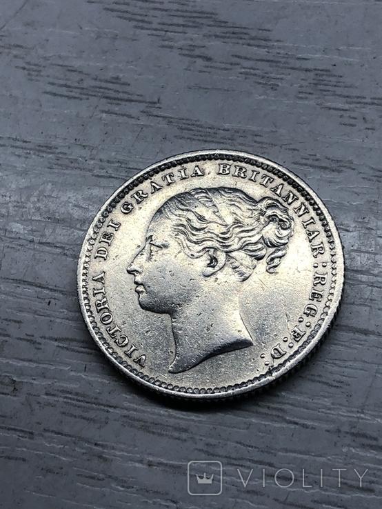 Один шиллинг 1886, Великобритания, фото №6