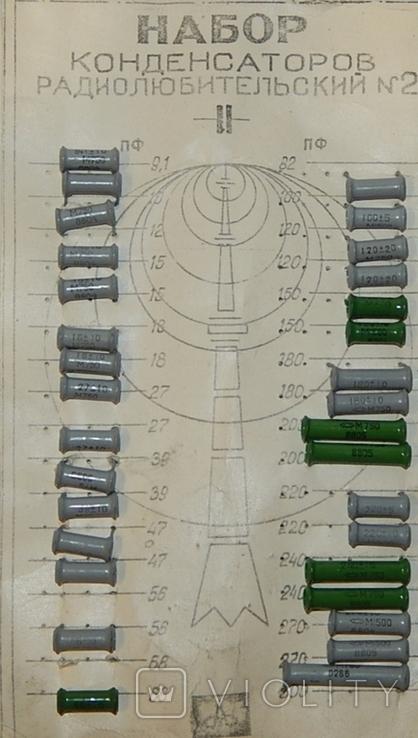 Конденсаторы разные набор СССР, фото №2