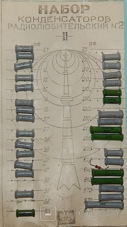Конденсаторы разные набор СССР, фото №3
