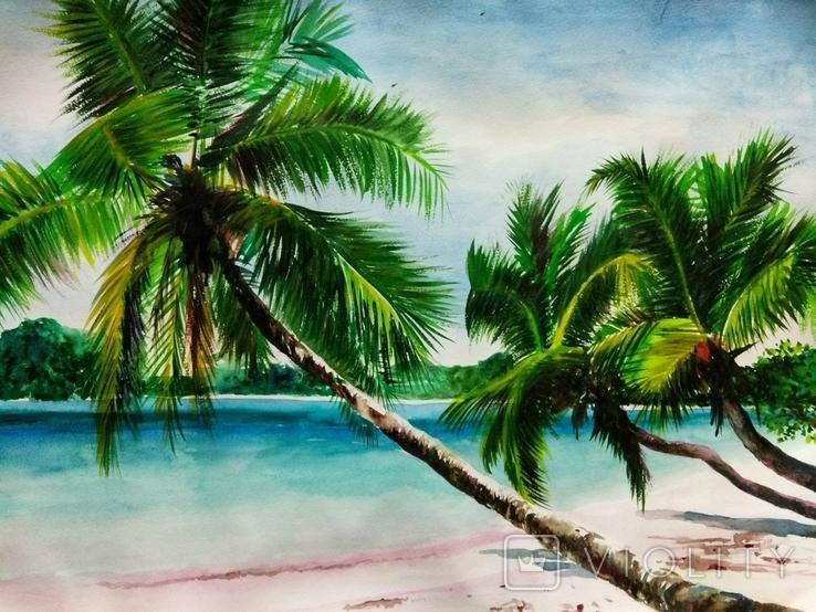 Пальмы. Лазурный берег