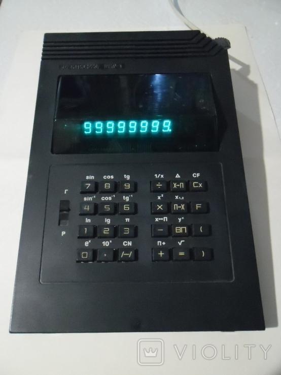 "Калькулятор ""Электроника"" МКУ-1 1991г., фото №2"