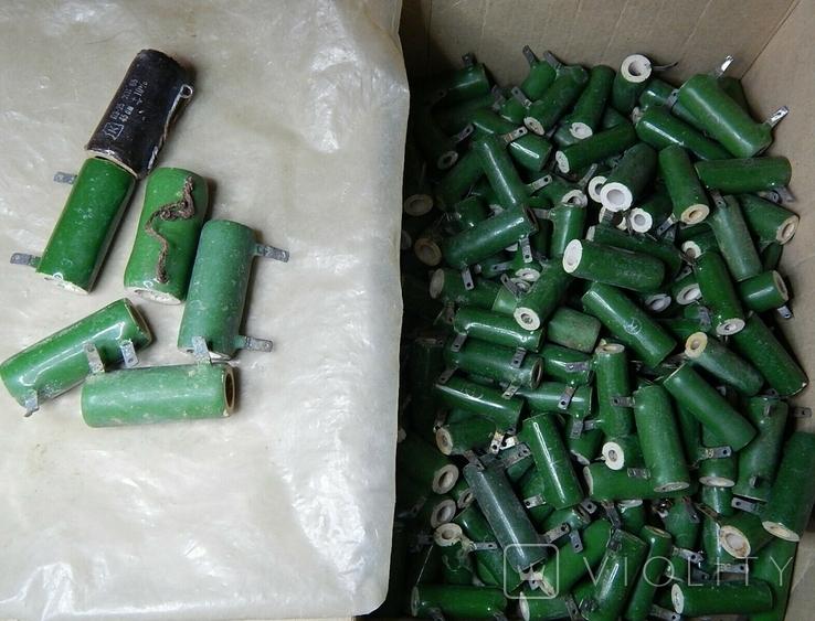 Резисторы разные общий вес 4-5 кг, фото №3