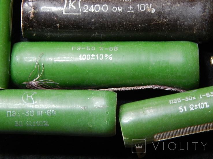 Резисторы разные общий вес 4-5 кг, фото №8