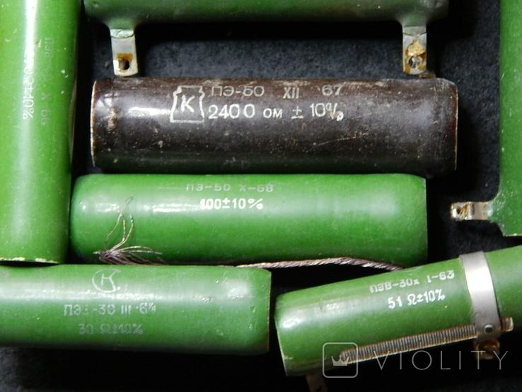 Резисторы разные общий вес 4-5 кг, фото №9