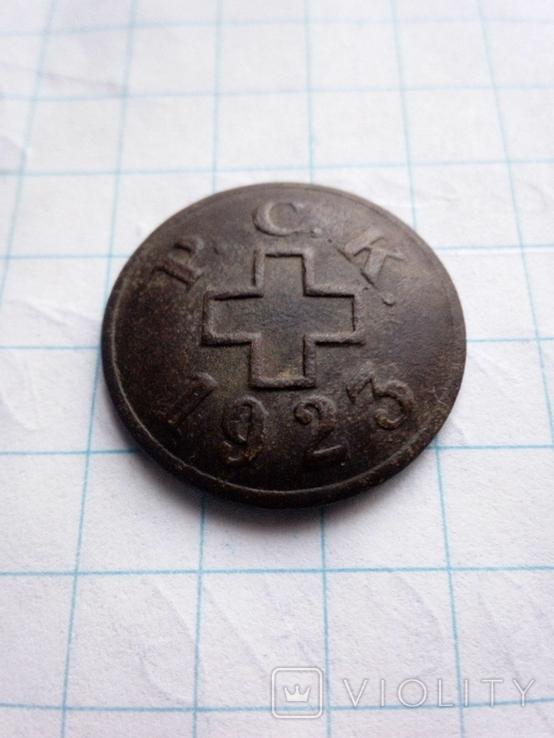 Значок червоного хреста 1923 року, фото №2