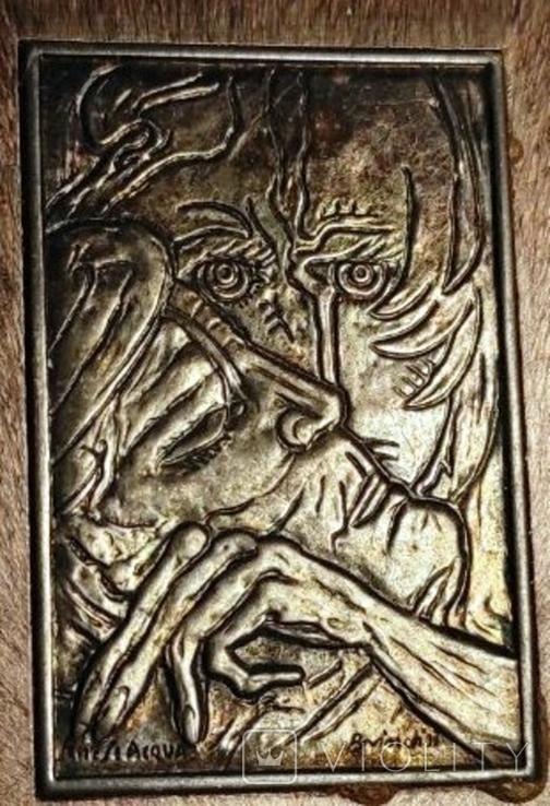 Барельефы из серебра мастера Senesi Acqua, фото №9