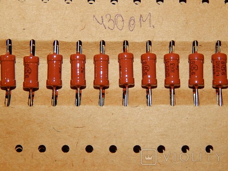 Резистор ОМЛТ-1/430ом, фото №4