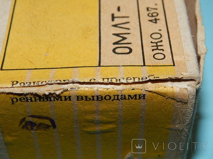 Резистор ОМЛТ-1/4,3ом, фото №3