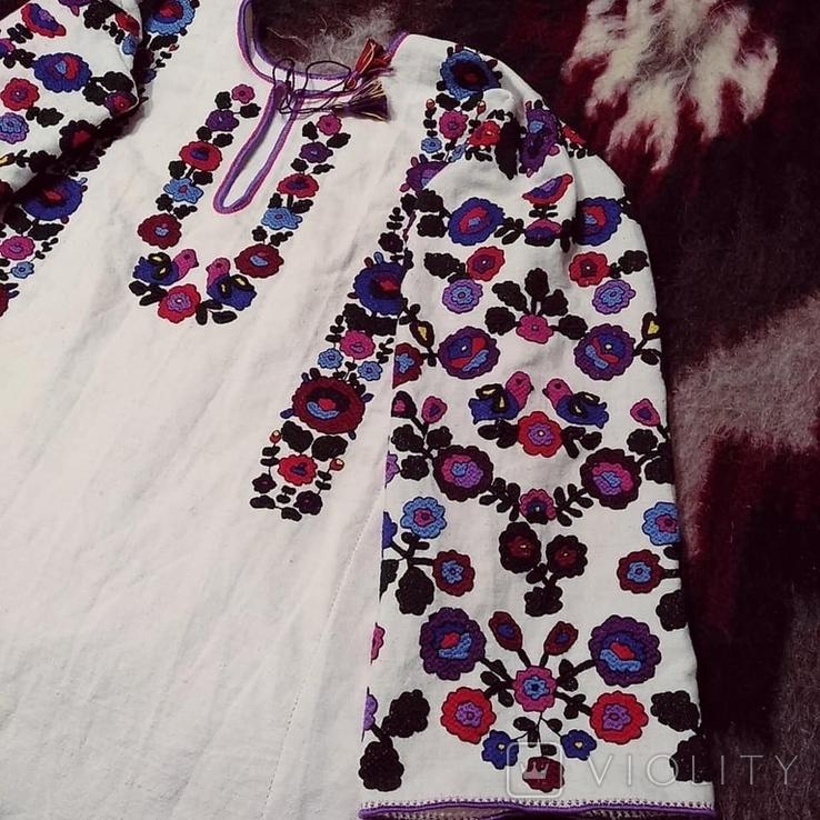 Жіноча сорочка вишиванка репліка національний одяг, фото №3