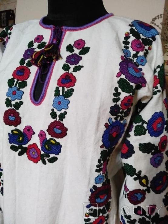 Жіноча сорочка вишиванка репліка національний одяг, фото №4