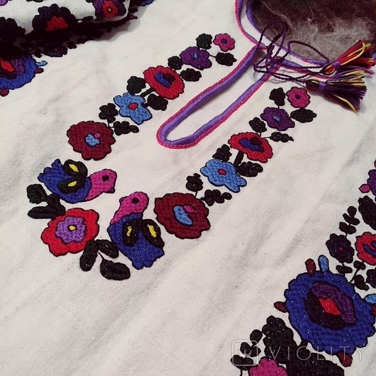 Жіноча сорочка вишиванка репліка національний одяг, фото №6