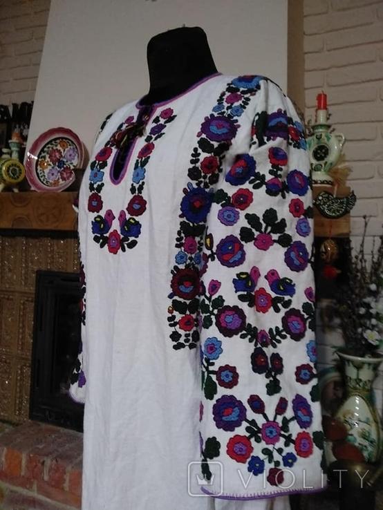 Жіноча сорочка вишиванка репліка національний одяг, фото №7