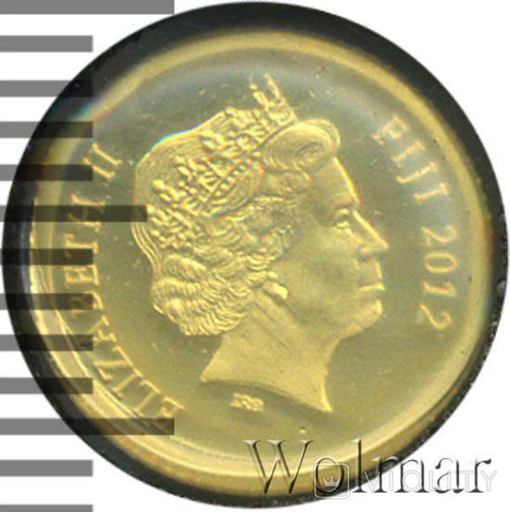 Доллар. Фиджи 2012 год., фото №2