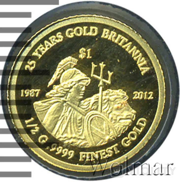 Доллар. Фиджи 2012 год., фото №3