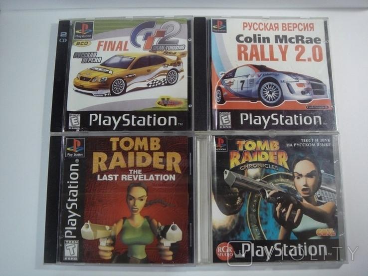 8 дисков на на 7 игр Sony PlayStanion + коробка для приставки, фото №4