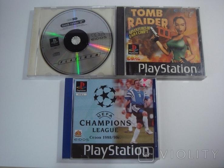 8 дисков на на 7 игр Sony PlayStanion + коробка для приставки, фото №7