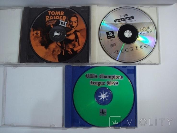 8 дисков на на 7 игр Sony PlayStanion + коробка для приставки, фото №9