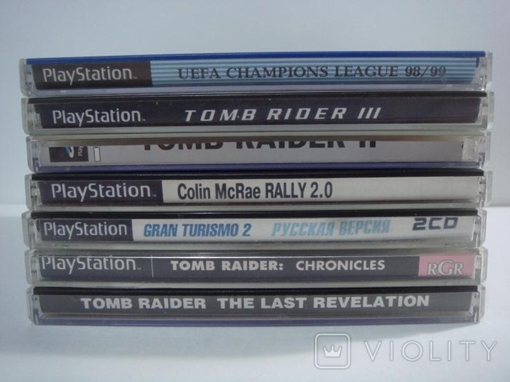 8 дисков на на 7 игр Sony PlayStanion + коробка для приставки, фото №10