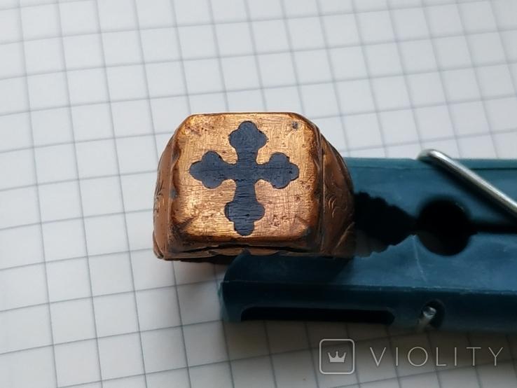 Перстень, окопное творчество, фото №2